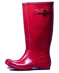 Red riding boots, Pipduck Australia